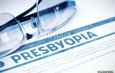 Presbyopia: Age Related Long Sightedness
